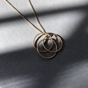 14k Gold Filled Trio Necklace